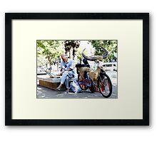 chiang mai Framed Print