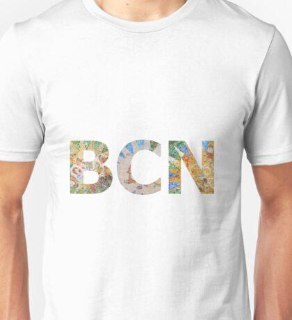 BCN Barcelona Gaudi Unisex T-Shirt