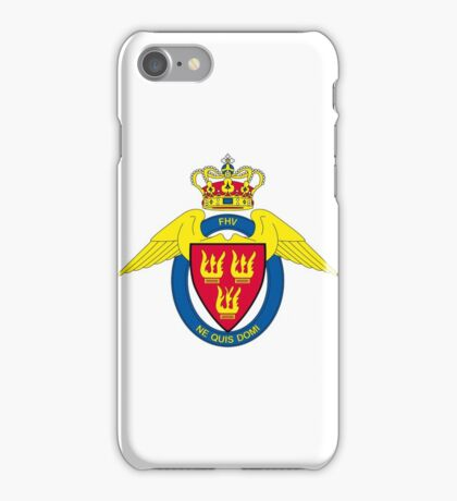Flyverhjemmeværnet (Air Force Home Guard) Logo iPhone Case/Skin