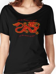 The Dragon Banner (Color) Women's Relaxed Fit T-Shirt