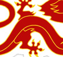 The Dragon Banner (Color) Sticker