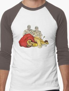 A Modern fairy tail, The Lion king Men's Baseball ¾ T-Shirt