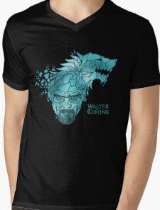 Walter is Coming Mens V-Neck T-Shirt