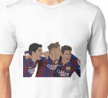MSN - Messi Suarez Neymar Celebration Minimalist Unisex T-Shirt