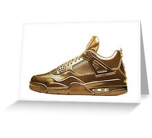 Nike Gold Greeting Card