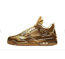 Nike Gold Photographic Print