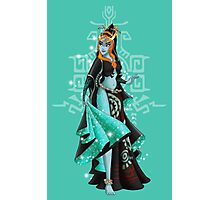 Gaming Princess: Midna (turquoise) Photographic Print