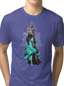 Gaming Princess: Midna (turquoise) Tri-blend T-Shirt