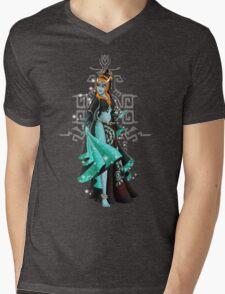 Gaming Princess: Midna (turquoise) Mens V-Neck T-Shirt