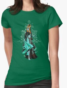 Gaming Princess: Midna (turquoise) Womens Fitted T-Shirt