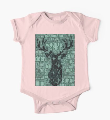 The One With The Spirit Animal's Words of Life (Deer) One Piece - Short Sleeve