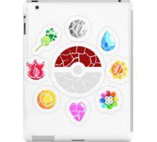 Broken Kanto Badges - Pokemon iPad Case/Skin