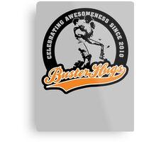 Buster Hugs Metal Print