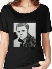 Justin Beiber Drawing  Women's Relaxed Fit T-Shirt