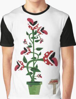 Caution! Piranha Graphic T-Shirt