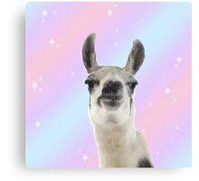 Magical Llama Canvas Print