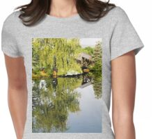 Weeping Reflections Womens Fitted T-Shirt