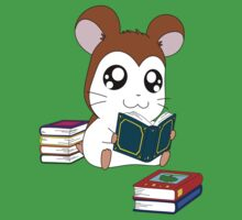 Maxwell with Books Baby Tee