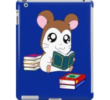 Maxwell with Books iPad Case/Skin