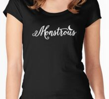 Monstrous Soul Women's Fitted Scoop T-Shirt