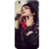 Gerard Way Neck holding iPhone Case/Skin