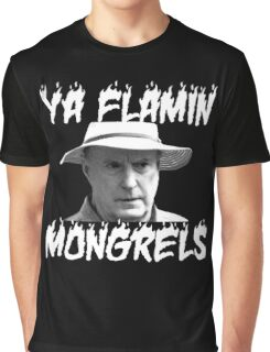 Alf Stewart Flamin Mongrels Graphic T-Shirt