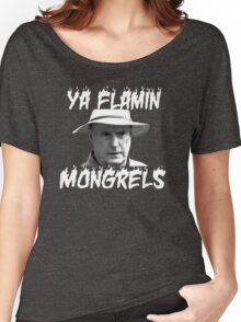 Alf Stewart Flamin Mongrels Women's Relaxed Fit T-Shirt