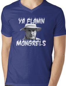 Alf Stewart Flamin Mongrels Mens V-Neck T-Shirt