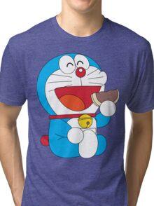 Doraemon Dorayaki Tri-blend T-Shirt