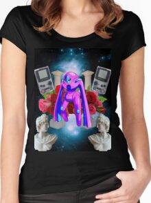 spacewave Women's Fitted Scoop T-Shirt