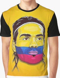 Falcao Colombia Graphic T-Shirt