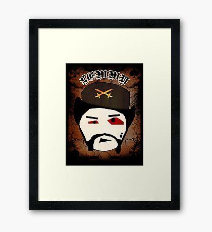 Lemmy Motörhead Framed Print