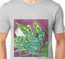 Ladybug on a Maple Unisex T-Shirt