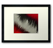 Fear Abstract Framed Print
