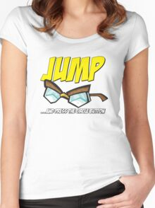 Jump... Women's Fitted Scoop T-Shirt