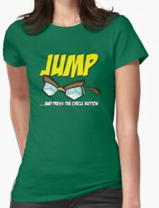 Jump... Womens Fitted T-Shirt