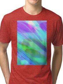 girl - edited Tri-blend T-Shirt