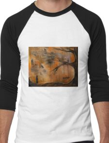 The Lonely Girl Men's Baseball ¾ T-Shirt