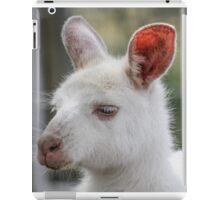 Albino kangaroos iPad Case/Skin