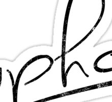 Euphoria [Black] Sticker