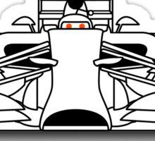 Reddit F1 Sticker
