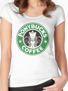 Pony - Starbucks Women's Fitted Scoop T-Shirt