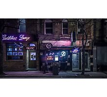 Cadillac Lounge Photographic Print