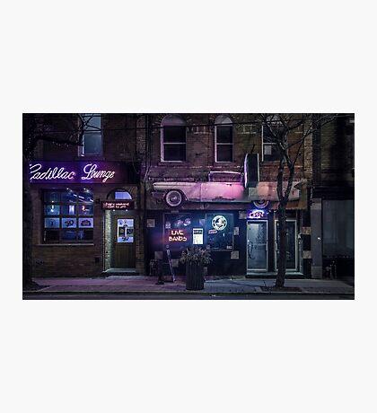 Cadillac Lounge Photographic Print