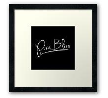 Pure Bliss [White] Framed Print
