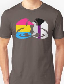 Pan Demisexual Pride Dragons Unisex T-Shirt