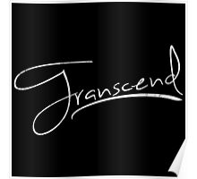 Transcend [White] Poster