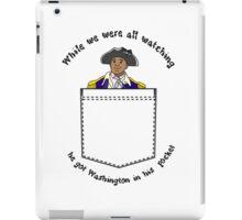 Pocket Washington iPad Case/Skin