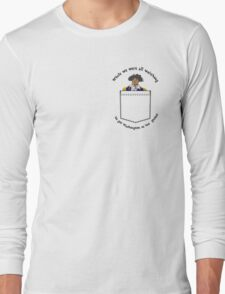 Pocket Washington Long Sleeve T-Shirt