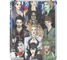 Once Upon A Villain iPad Case/Skin